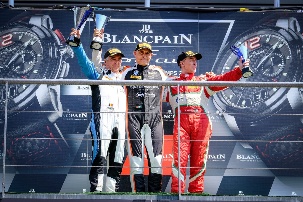 Karim Ojjeh extends championship lead after sublime Main Race victory at Spa, Klaus Dieter Frers takes seventh Iron Cup win of 2018