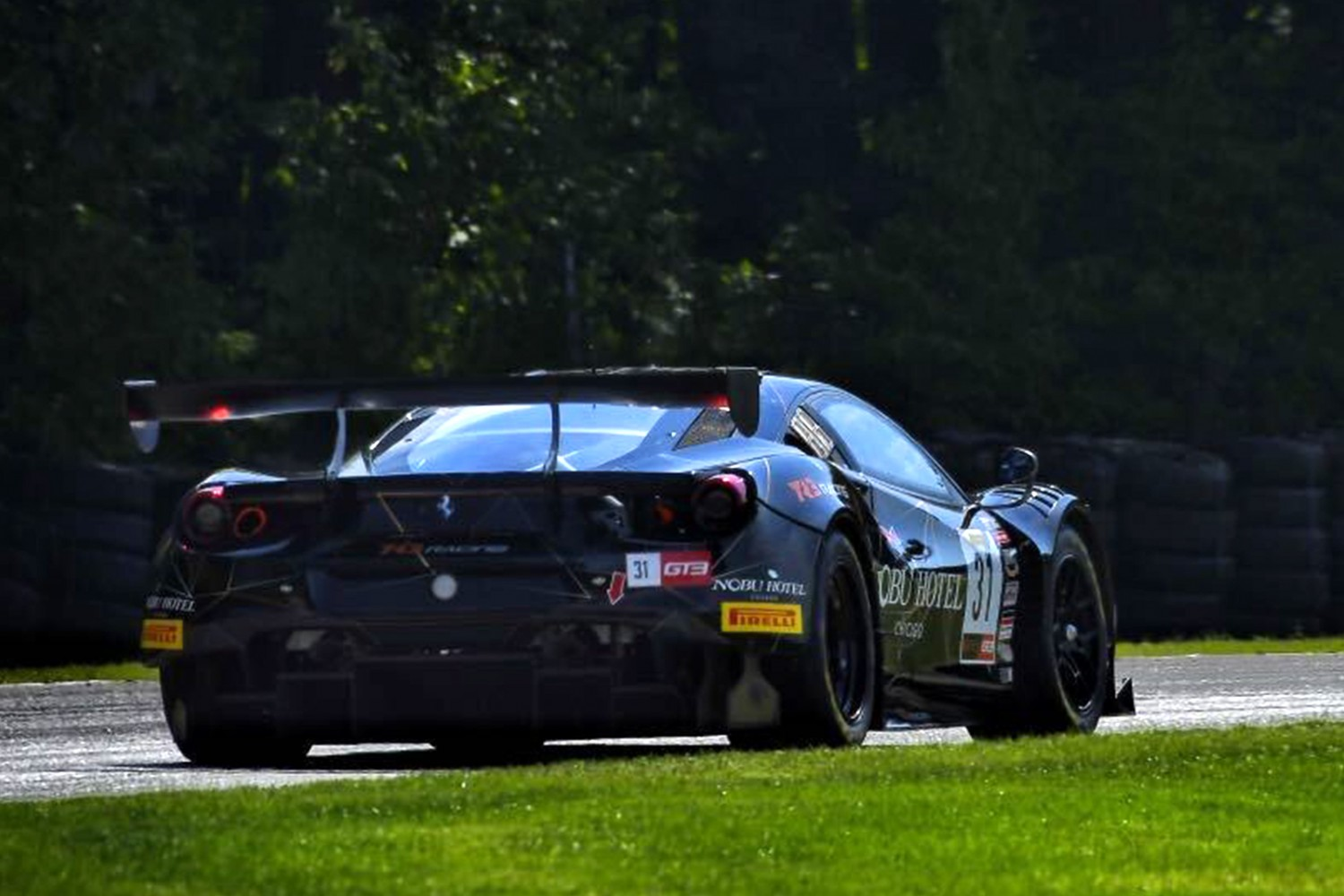 Issa Leads GT Sports Club America Practice 2 at Road America