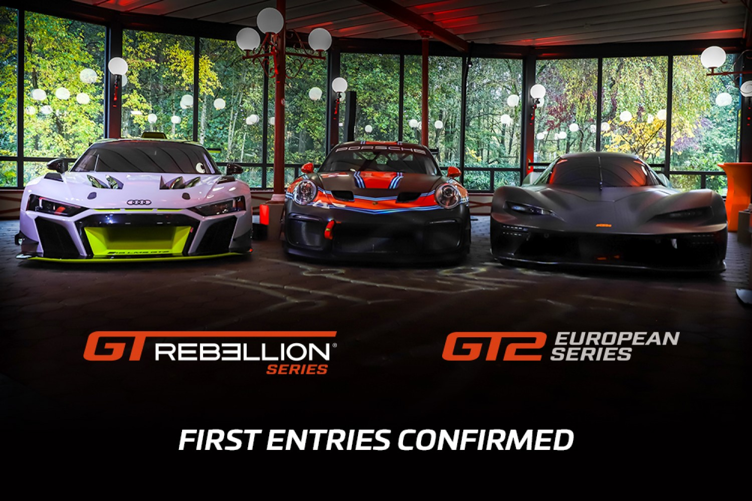 First eight teams confirm their entries across GT2 European and GT Rebellion Series