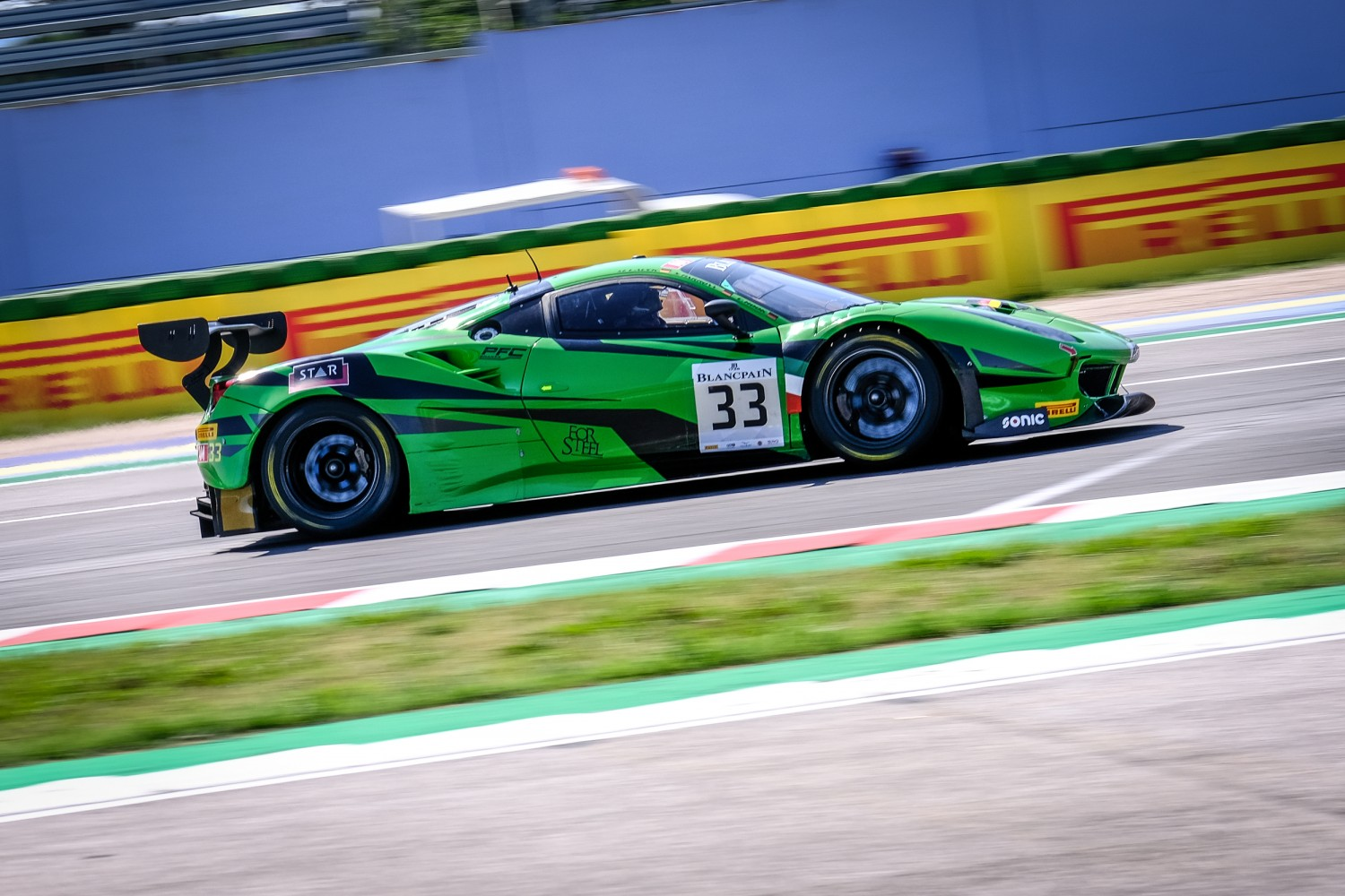 Hook marks return to Blancpain GT Sports Club with double pole position at Misano
