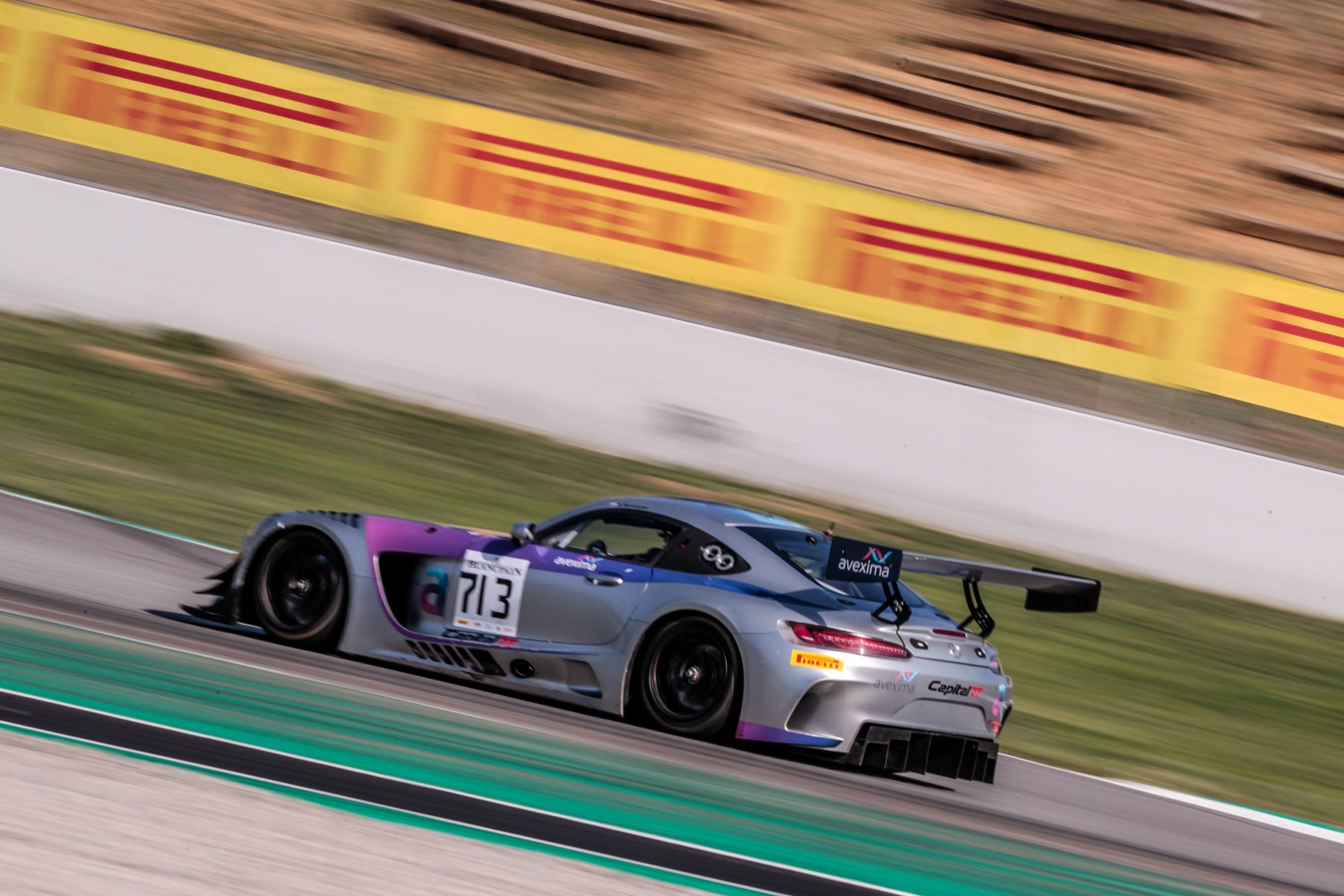 Valuable track time for Blancpain GT Sports Club drivers in Barcelona Friday testing