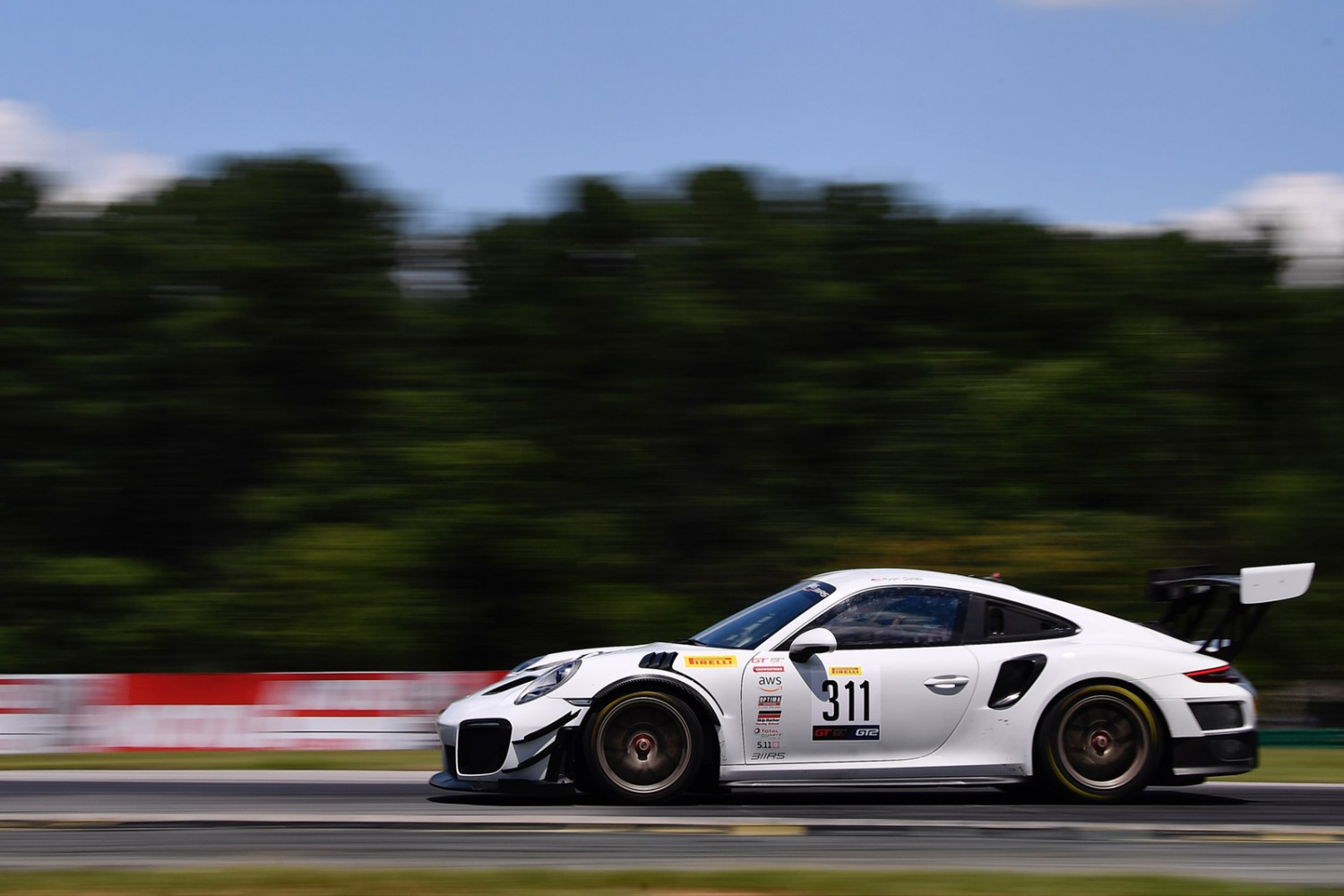 Gates Continues Perfect Streak at VIR, Takes First Ever GT Sports Club America Series Win