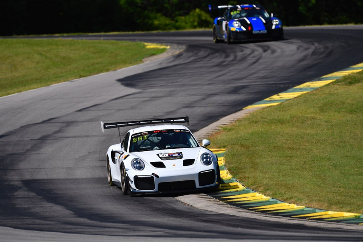 Gates Goes Two for Two in GT Sports Club America Series Qualifying at VIR